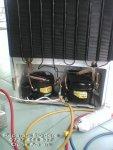 Reparare frigider 2 compresoare